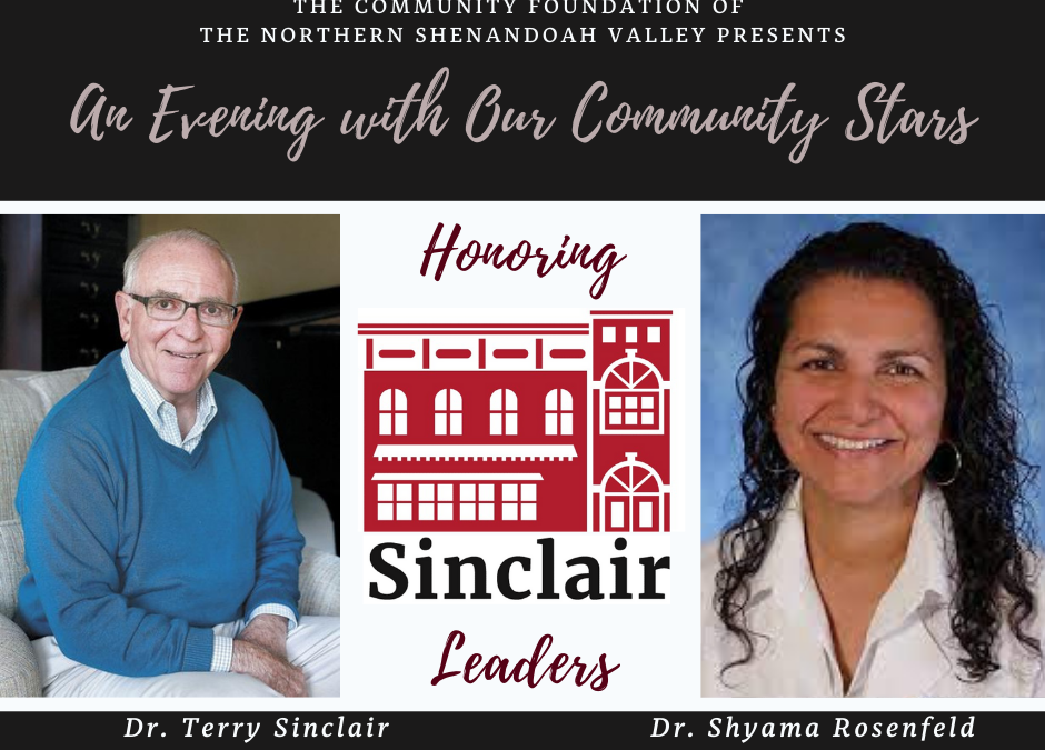 Sinclair Leaders to be Honored in August.